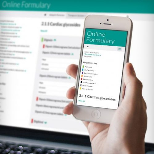 Online Formulary Thumbnail - Creative Agency Kent