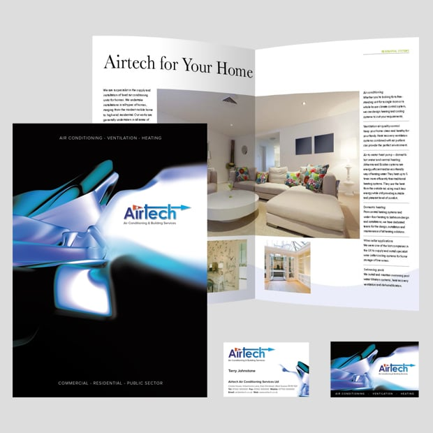 Airtech Spreads and Cover - Creative Agency Kent