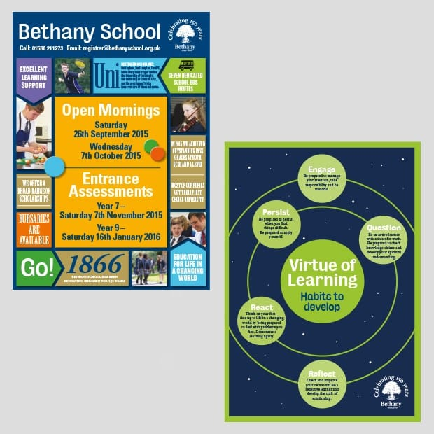 Bethany Advertising Design Print Examples - Creative Agency Kent