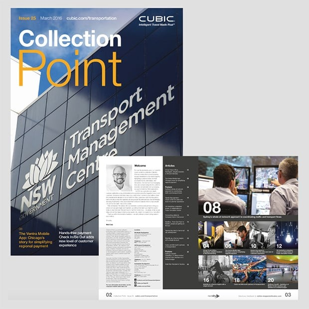 Collection Point Design for Print Cover and Spread - Creative Agency Kent