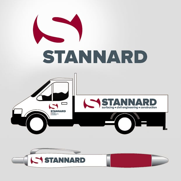 Stannard Logo Livery And Stationary Examples - Creative Agency Kent