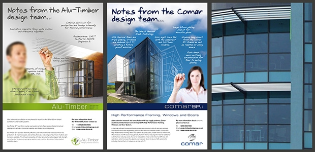 Comar Design Team Advertising Campaign Design Print - Creative Agency Kent