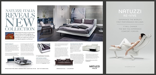 Natuzzi Advertising Examples - Creative Agency Kent