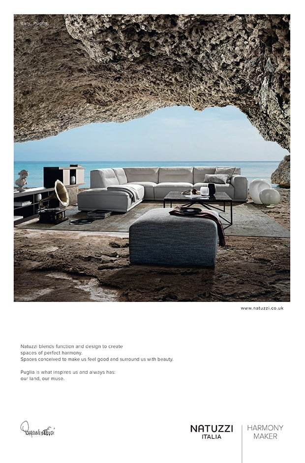 Natuzzi Ad Design for Print - Creative Agency Kent