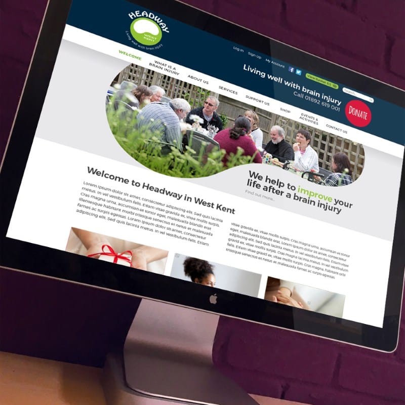 Headway Website Design - Creative Agency Kent