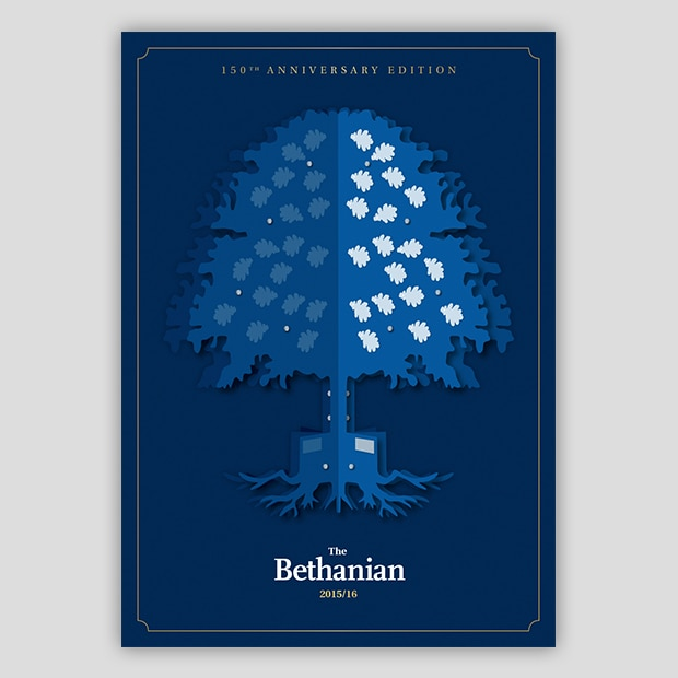 Bethanian 150th Anniversary Cover Design - Creative Agency Kent