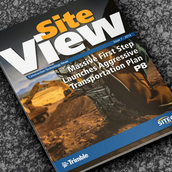 Site View Construction Technology Magazine Publishing - Creative Agency Kent