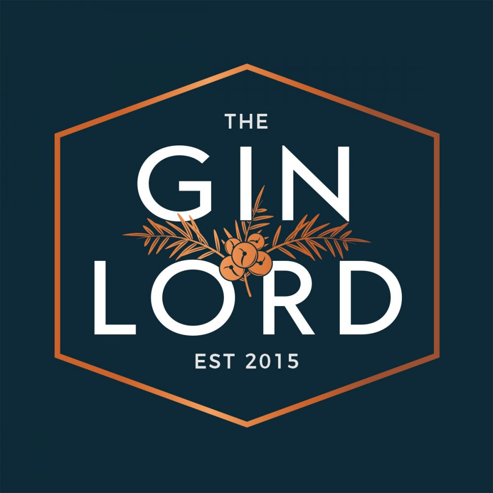 The Gin Lord Logo Design