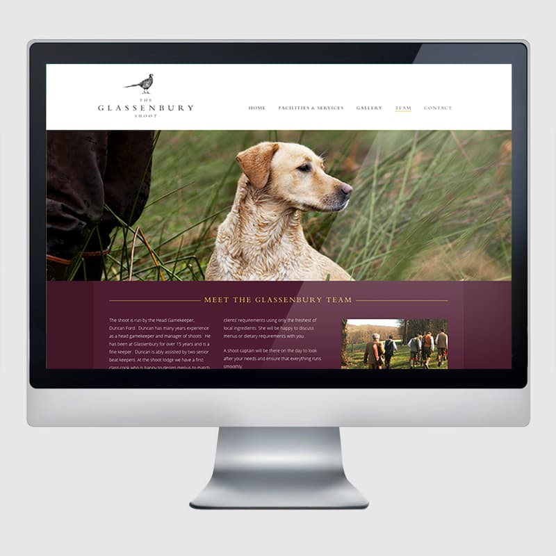 Glassenbury Web Design Agency Screenshot 2 - Design Agency Kent - Web Design